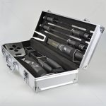 7pc SS BBQ Tool w/Carry Case